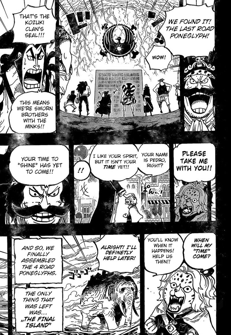 One Piece Manga Chapter 967 - Image 014