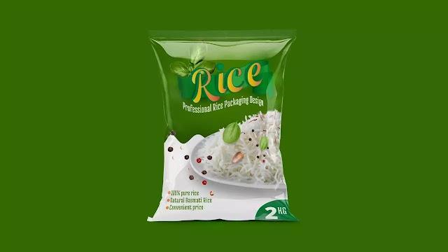 Creative Rice Packaging Design | Packaging Design | Adobe Photoshop Cc