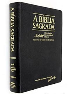 Biblia de estudo rcm trinitaria