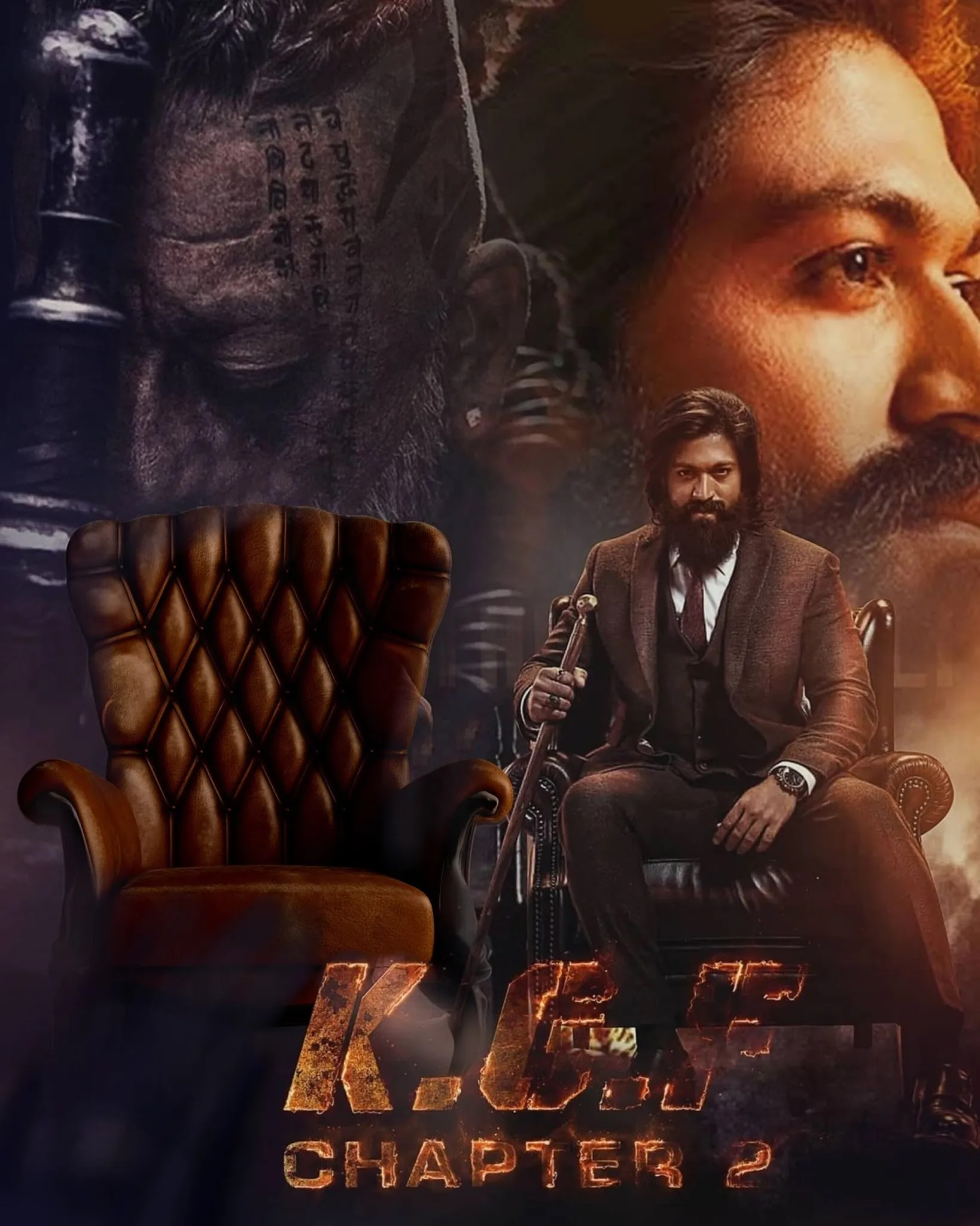 KGF Chapter 2 Photo Editing Background Images HD Download