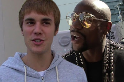 Justin Bieber At 'War' With Floyd Mayweather Over Worldly Things