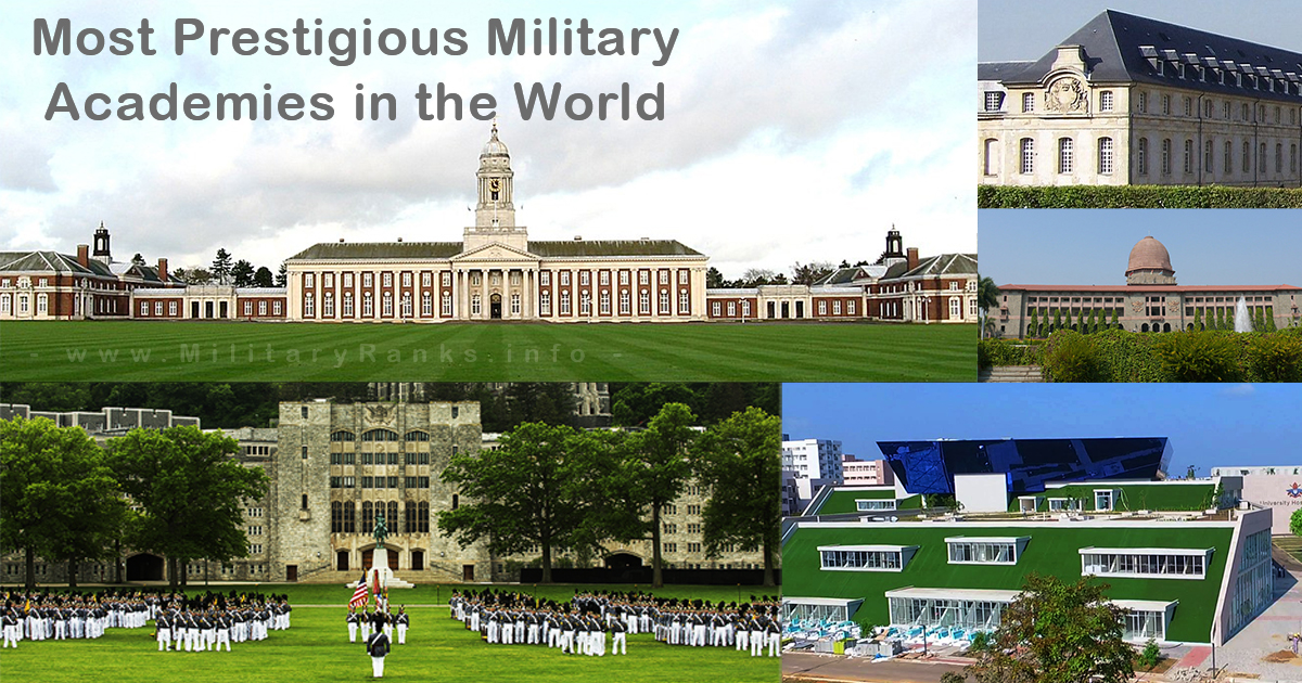 Most Prestigious Military Academies in the World | Top 10 Defence Academies