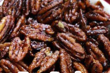 Easy Stovetop Candied Pecans Recipe