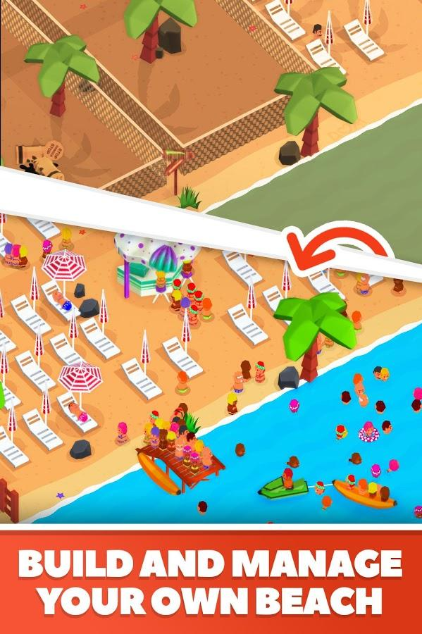 Idle Beach Tycoon : Cash Manager Simulator (PAID) APK ...