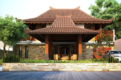 Rumah Adat Jawa Tengah Beserta Gambarnya ( Rumah Joglo )