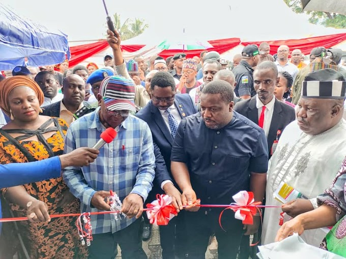 Ortom Charged Benue Indigenes Of Investing In The Private Sector