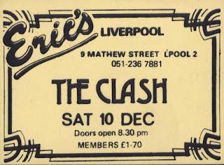 The Clash Ticket