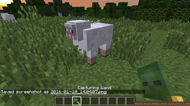 Mover animales en Minecraft - Not Enough Wands Mod para Minecraft 1.7.10/1.8.9