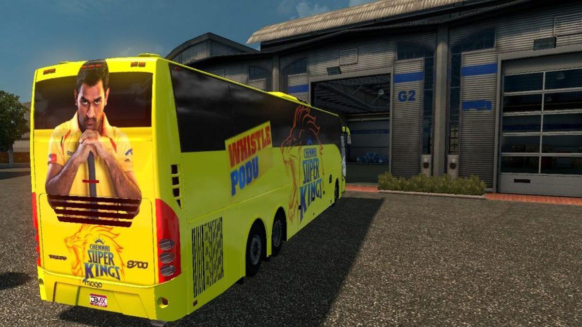 Volvo IPL bus skin pack