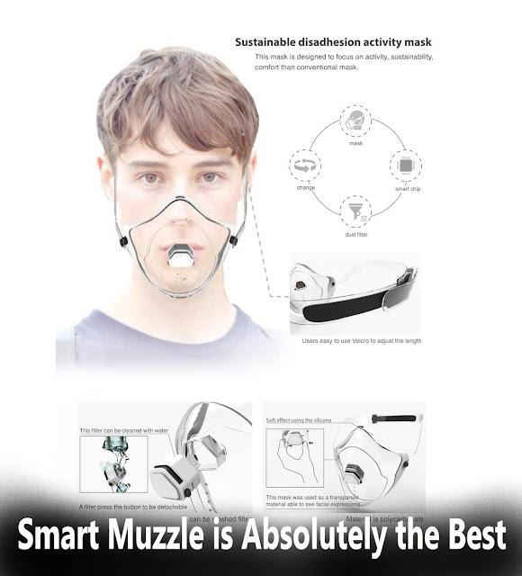 Smart Muzzle | الكمامة الذكية هي الأفضل على الإطلاق
