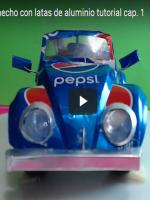 http://manualidadesreciclajes.blogspot.com.es/2016/11/volkswagen-con-latas-de-refresco.html