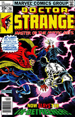Doctor Strange #28,the In-Betweener