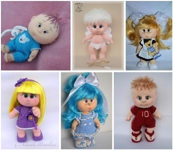 d4159c8d322e1 Bonequinhas bebe de crochê - Amigurumi Baby art
