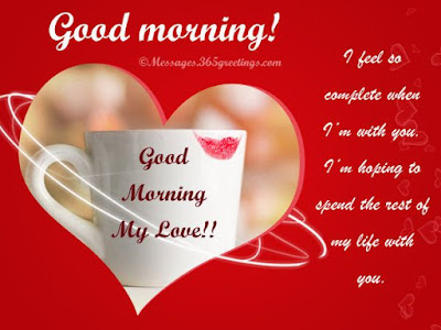 good morning messages to the one you love