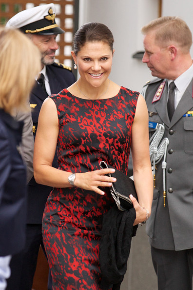 Crown Princess Victoria of Sweden at Baltic Sea Seminar at Finnish Embassy