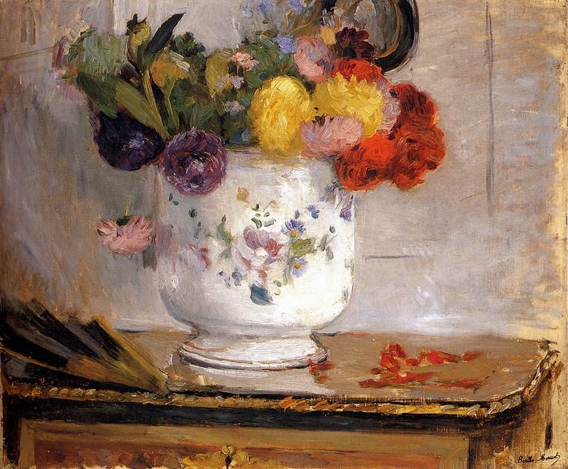 Dahlias Berthe Morisot · 1876