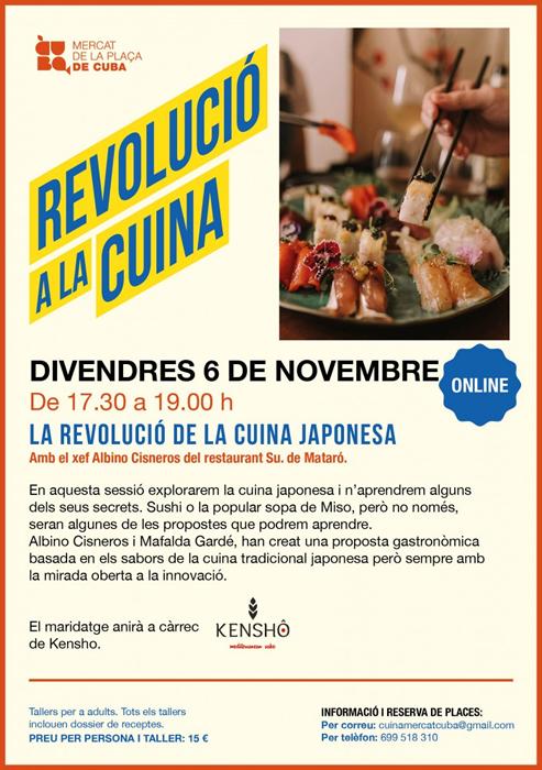 MERCAT PLAÇA CUBA REVOLUCIÓ CUINA JAPONESA