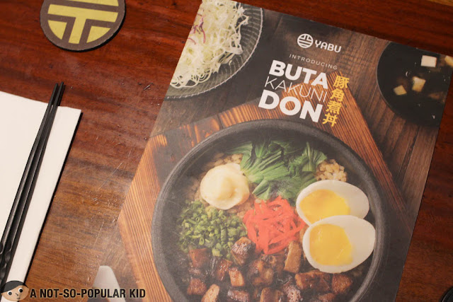 Yabu Philippines Menu - Buta Kakuni Don