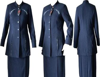 Contoh Model Baju Dinas Guru Wanita Terbaru