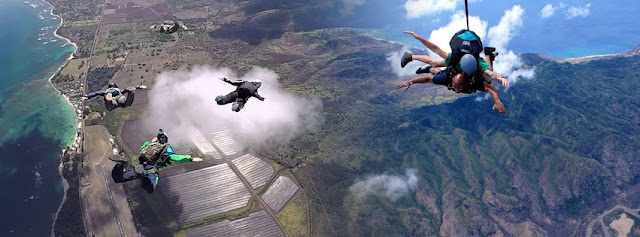 Skydiving in Hawaii