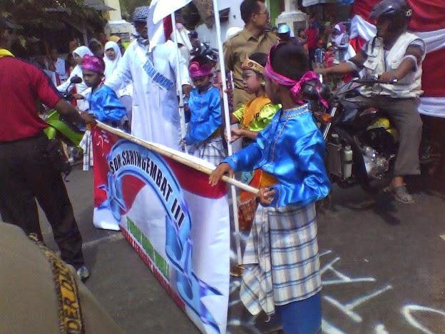 Foto SDN Saringembat 3 Karnaval Kecamatan Singgahan Tuban 2014