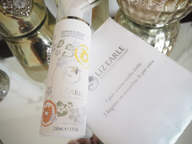 Liz Earle  Cleanse & Polish Hot Cloth Cleanser Grapefruit & Patchouli Limited Edition