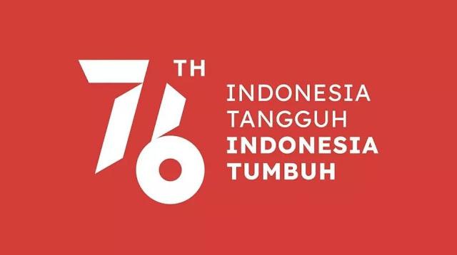 Logo resmi HUT RI Ke-76 2021