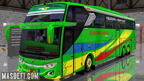 livery jb3 tronton volvo b11r gunung harta hijau