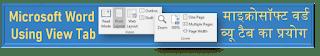 MS-Word Videos  View Tab