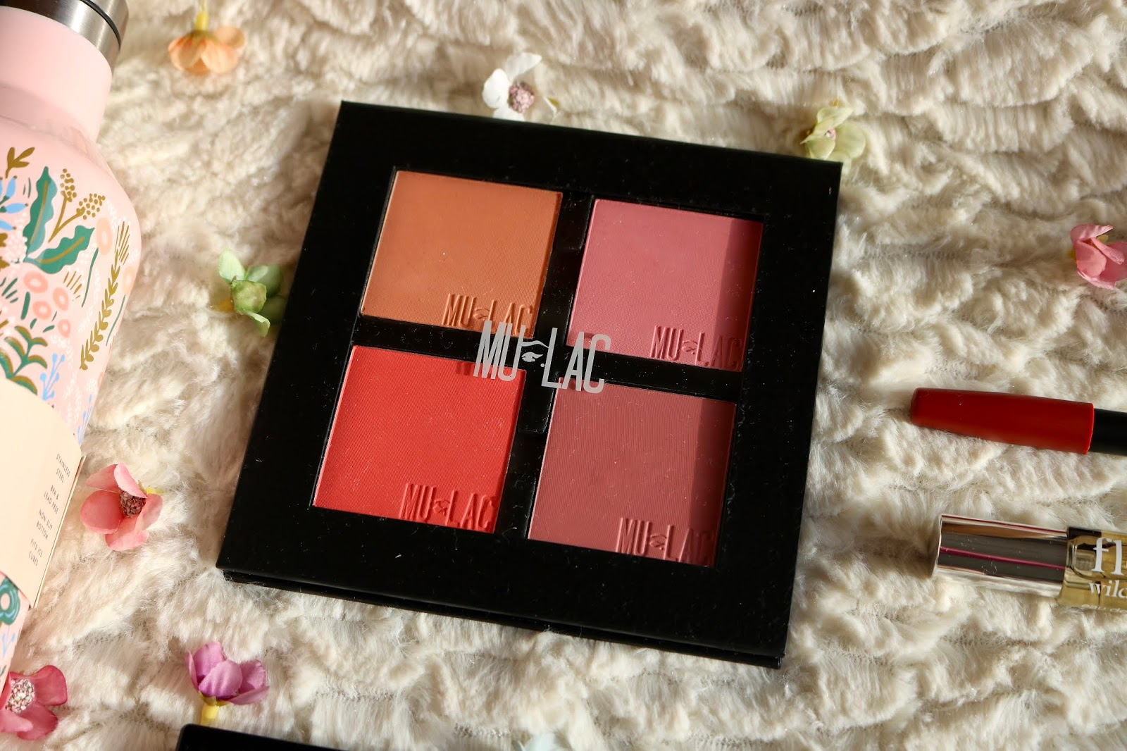 MULAC REFILLABLE PALETTE £6.80 AND BLUSH REFILLS IN WINNIE, BELLE, SCAR AND CLIMAX