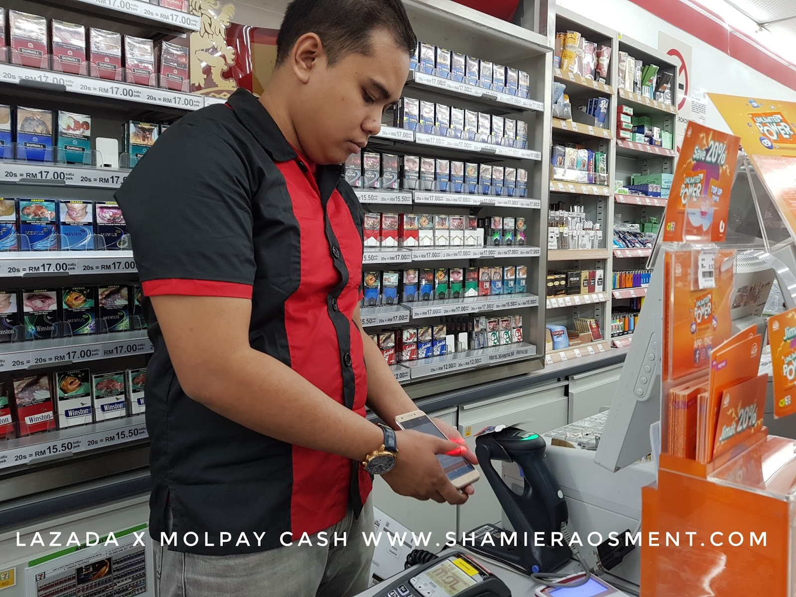 how to pay lazada using 7 eleven malaysia