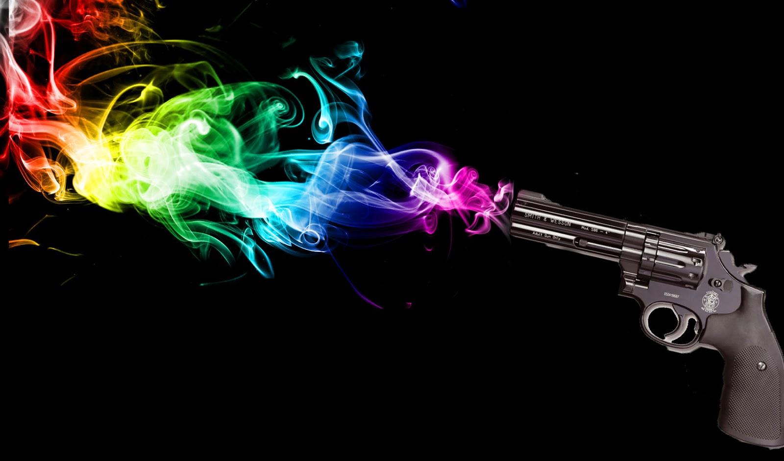 rainbow smoke hd wallpapers - desktop wallpapers