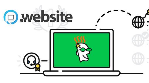 Noms de domaine .WEBSITE de GoDaddy
