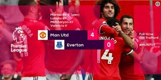 Video Cuplikan Gol Manchester United vs Everton 4-0 Liga Inggris 17/9/2017