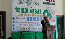 Zikir Akbar dan Gema Salawat Dalam Rangka Harlah NU ke 92