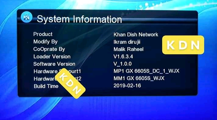 Gx6605s Receivers New DSCAM & PowerVu Software 2019 - Jam Receivers