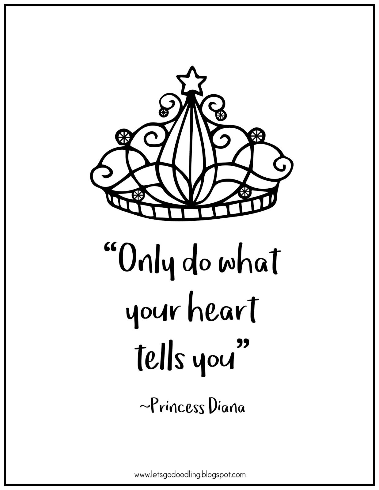 FREE Printable Coloring Page: Princess Crown