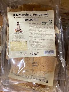 A package of testaroli