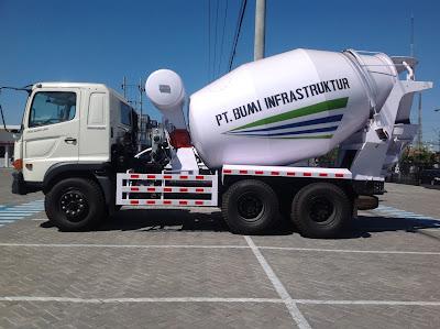 truck mixer 7 kubik hino ranger