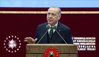 أردوغان: الإعلام الحر شرط لمجتمع يتحلى بالديمقراطية والشفافية