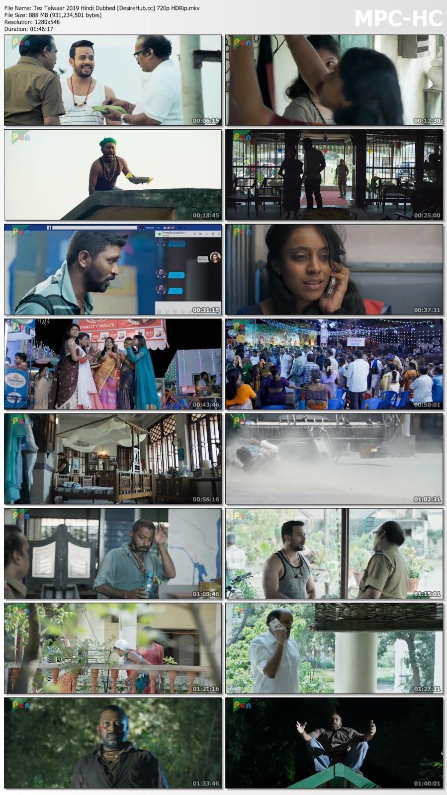 Tez Talwaar 2019 Hindi Dubbed 720p HDRip 850mb Desirehub