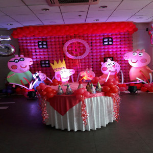 peppa pig theme party in delhi