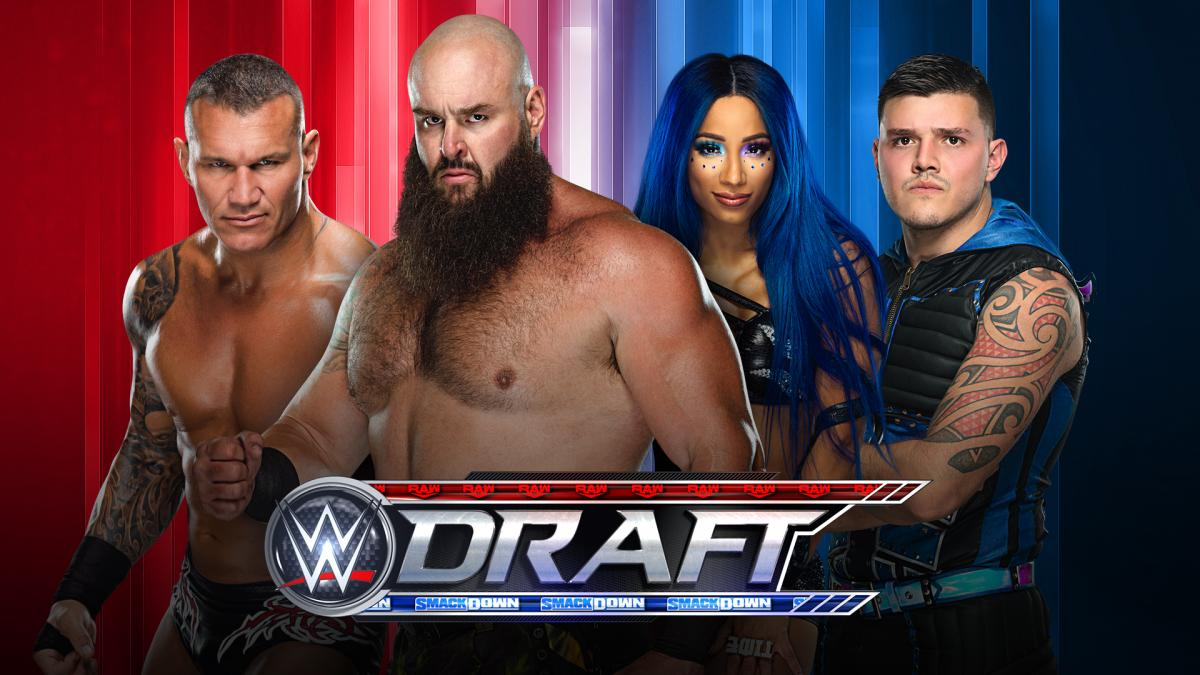 WWE Draft on Monday Night RAW