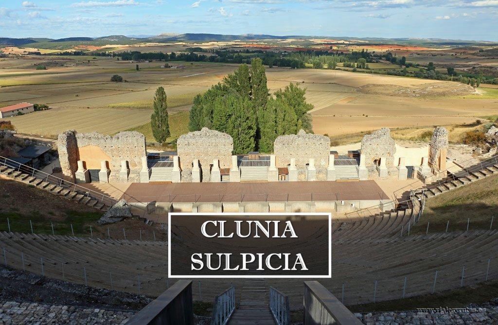 Visita a la ciudad romana de Clunia Sulpicia