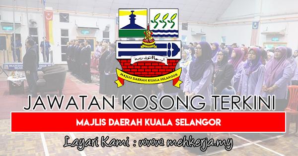 Jawatan Kosong Terkini 2018 di Majlis Daerah Kuala Selangor