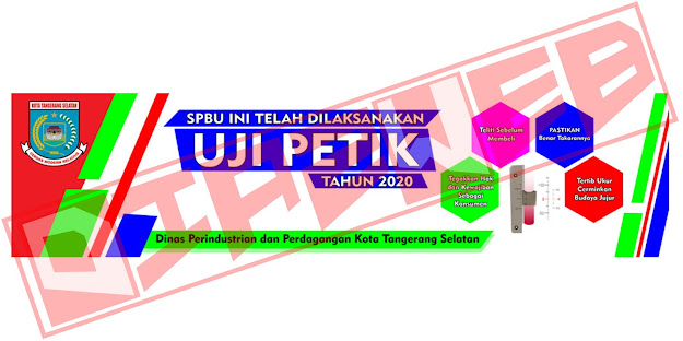 Design Spanduk Untuk UPT Metrologi Tangsel