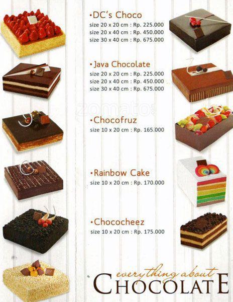harga tiramisu cake Cake Recipe