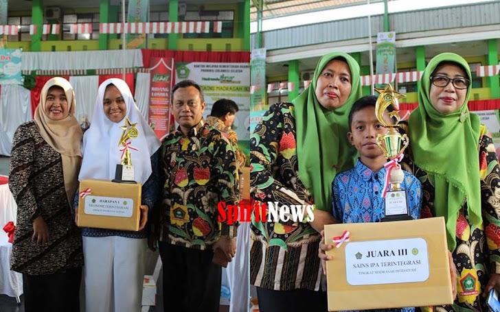 MIN 2 Sinjai Juara III Mapel IPA Terintegrasi Lomba KSM Tingkat Provinsi Sulawesi Selatan