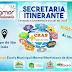 Secretaria Itinerante levando assistência social até  você, em Campo de São João, município de Várzea da Roça