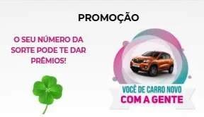 Cadastrar Promoção Rede Farma Gente - Carro e Moto 0KM